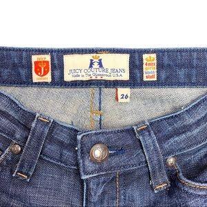 Juicy Couture Jeans - JUICY COUTURE Cropped Capri Denim Jeans 26